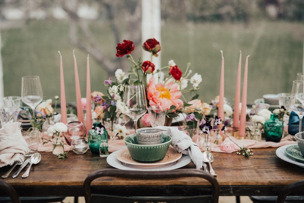 Photo:  Malin Mörner  / Table setting:  Rental Stories