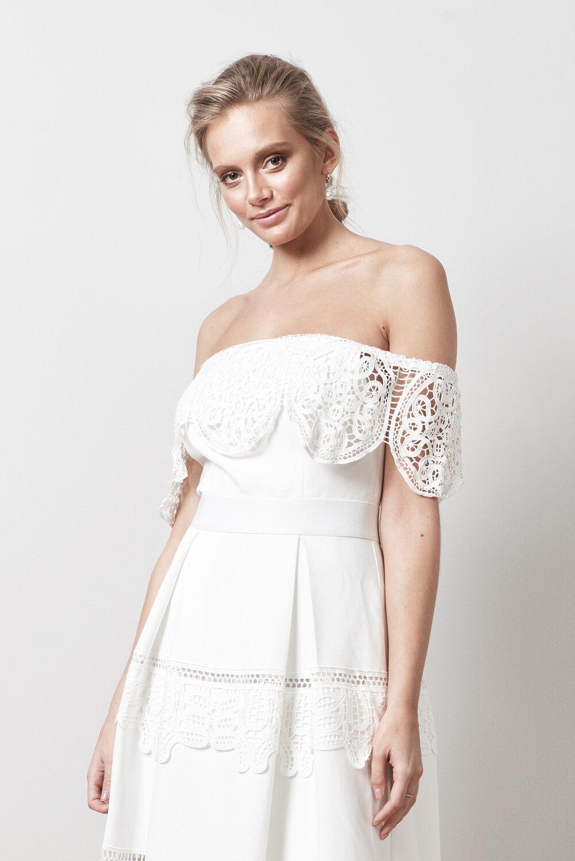 Bohemian wedding dress , By Malina