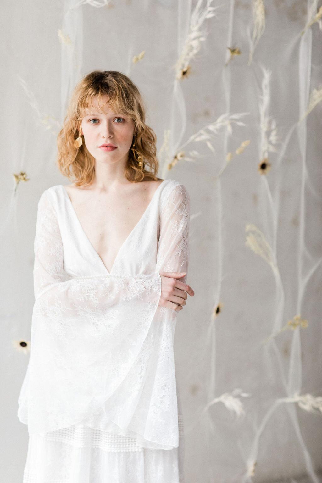 bröllop+boho+klänning