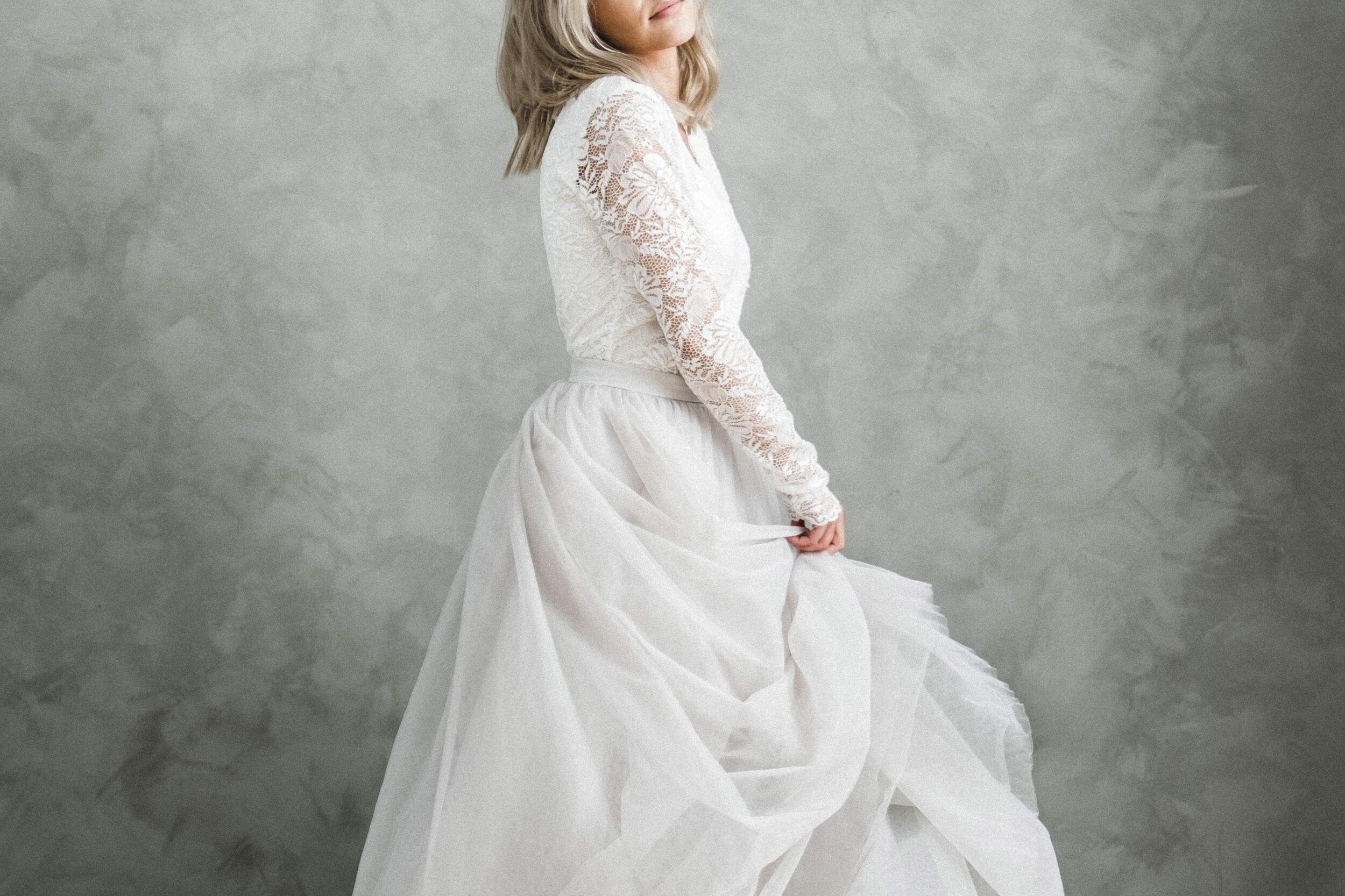Bröllopsklänning Östersund