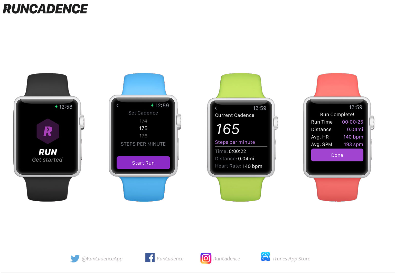 RunCadence Watch