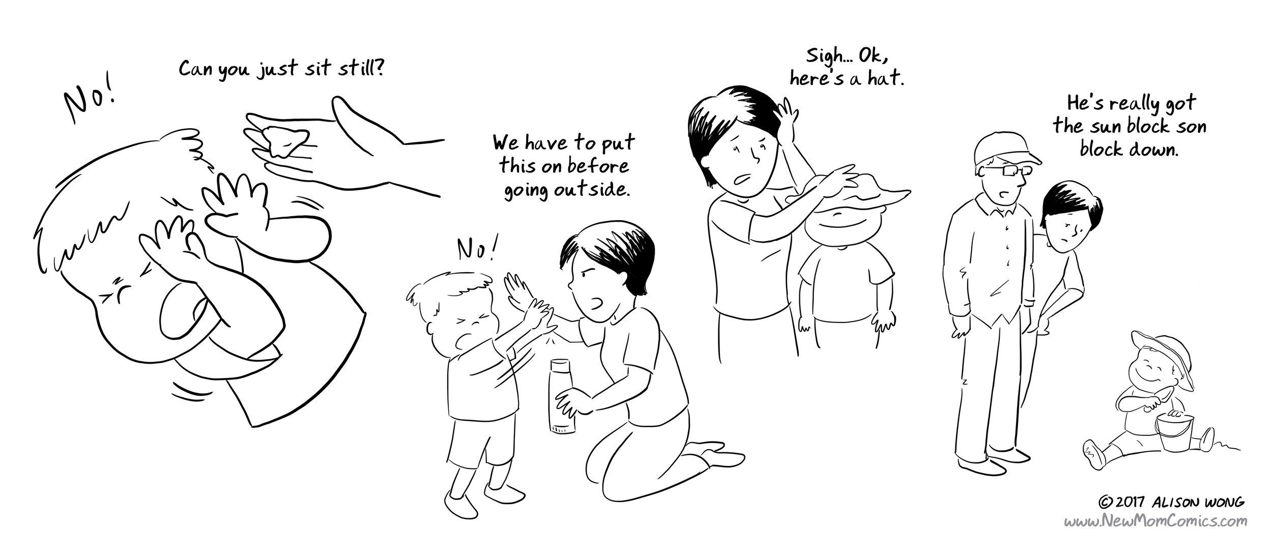 New Mom Comics -