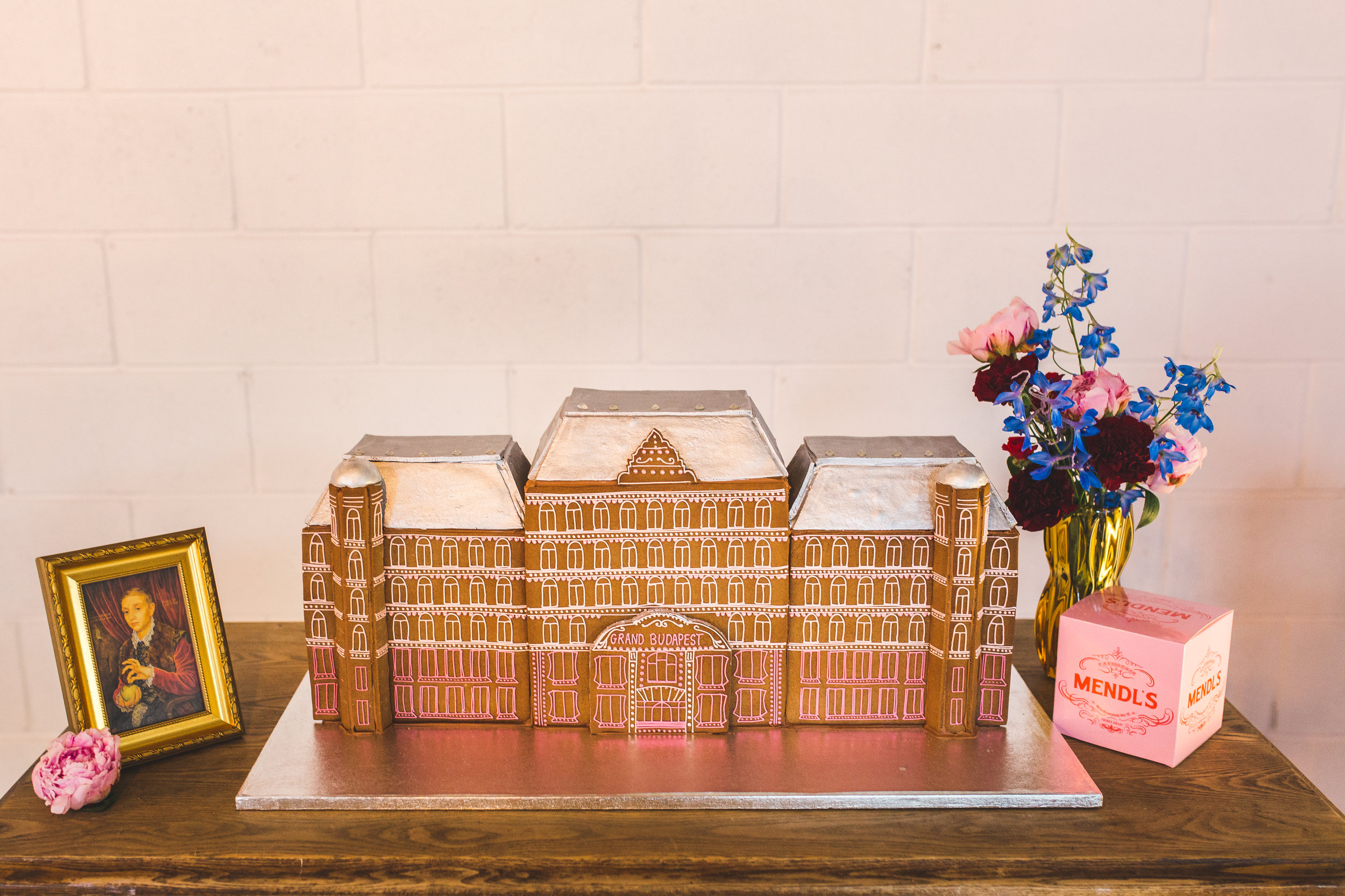 The Gingerbread Grand Budapest Hotel.  Photo by  Kirsty Mackenzie .