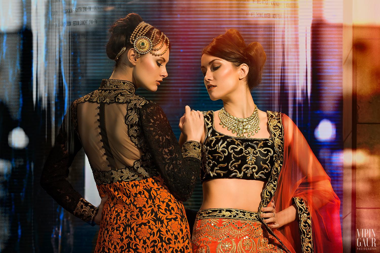 Flaunting gorgeous ethnic wear