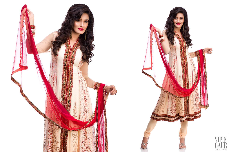 Elegant display of Indian ethnic wears
