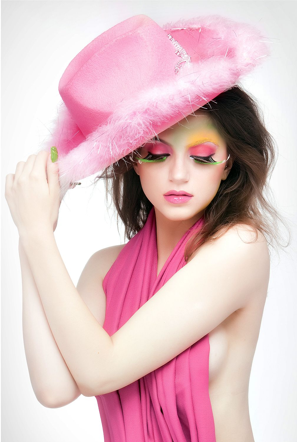 Sensuality in pink shades