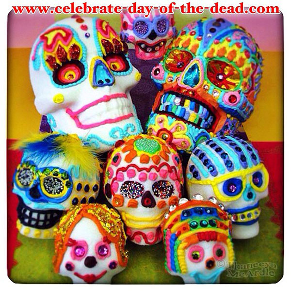 Real Sugar Skulls 2012 by Thaneeya