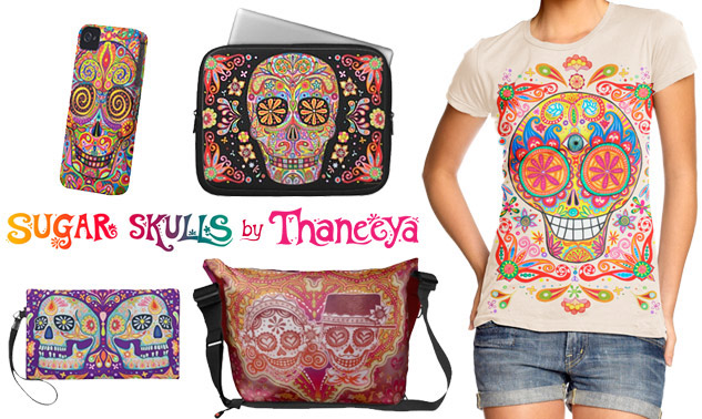 Sugar Skulls by Thaneeya