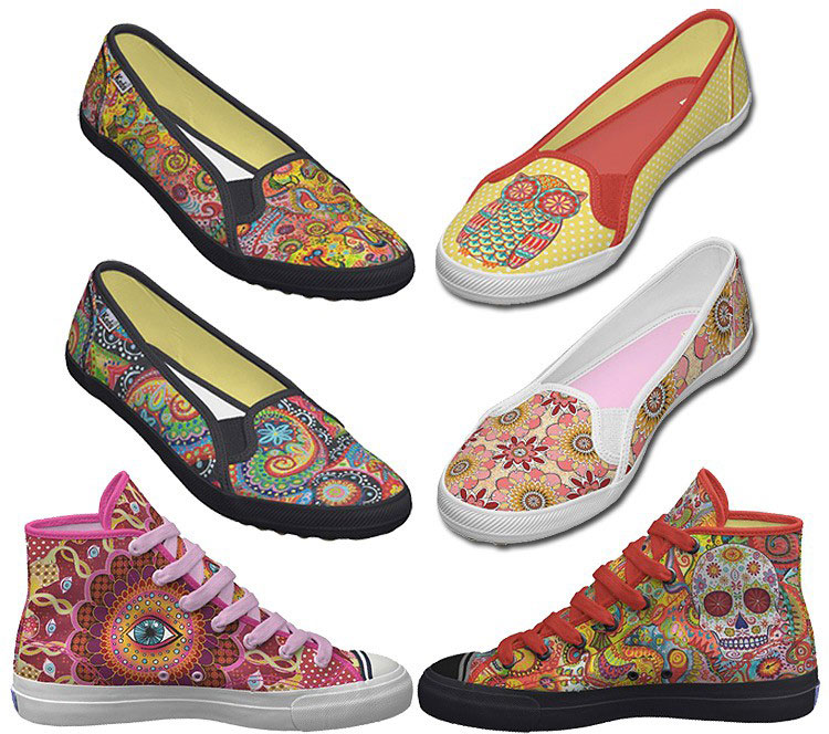 Colorful Shoes by Thaneeya