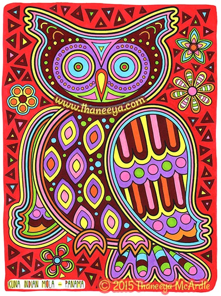 Folk Art Coloring Book by Thaneeya McArdle — Thaneeya.com