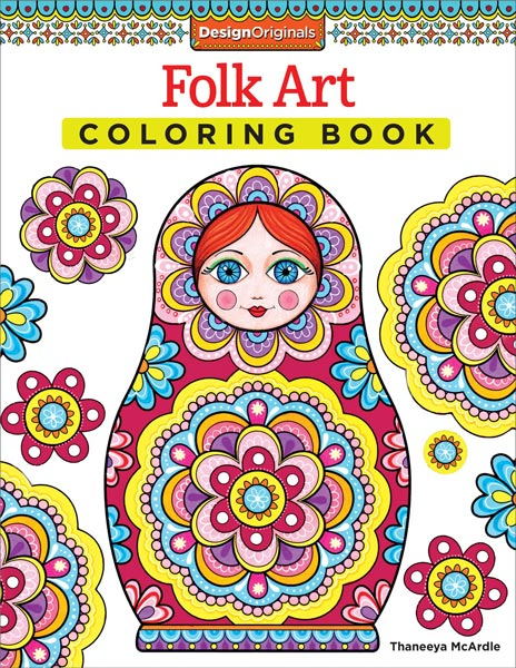 - Folk Art Coloring Book By Thaneeya McArdle — Thaneeya.com