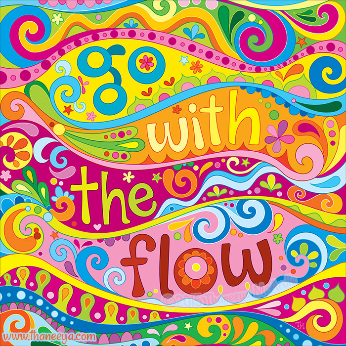Go With the Flow by Thaneeya McArdle