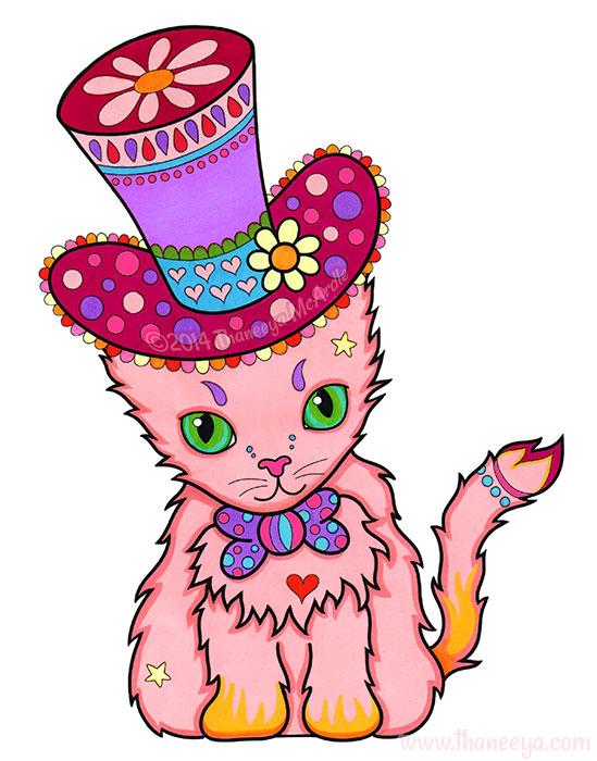 Gustav the Dapper Cat by Thaneeya McArdle