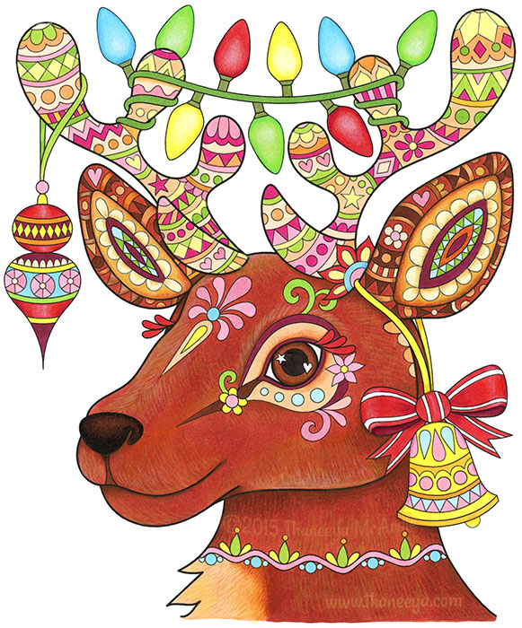 Reindeer by Thaneeya McArdle