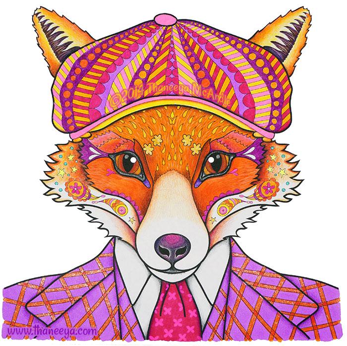 Sven the Dapper Fox by Thaneeya McArdle