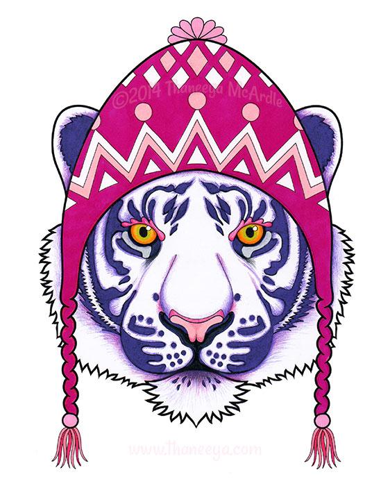 Teresita the Tiger by Thaneeya McArdle