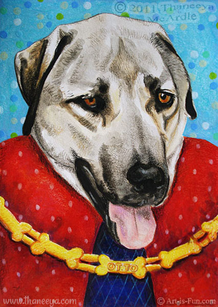 Portrait of Otto by Thaneeya McArdle