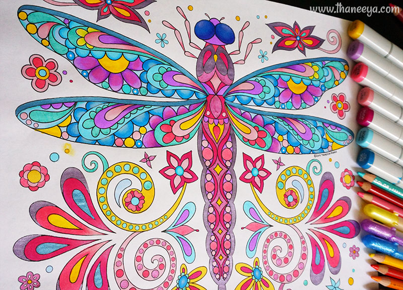 Dragonfly with Media by Thaneeya McArdle