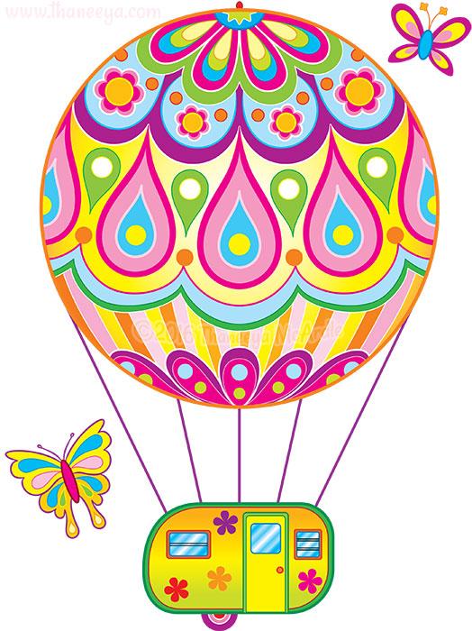 Hot Air Balloon by Thaneeya McArdle