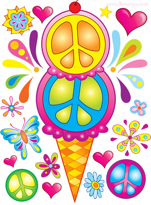 Peace Ice-Cream by Thaneeya McArdle