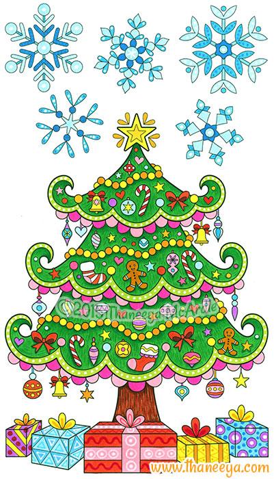 Christmas Tree by Thaneeya McArdle
