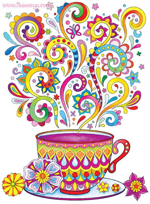 Cup of Tea by Thaneeya McArdle