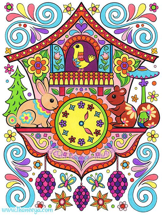 Cuckoo Clock by Thaneeya McArdle