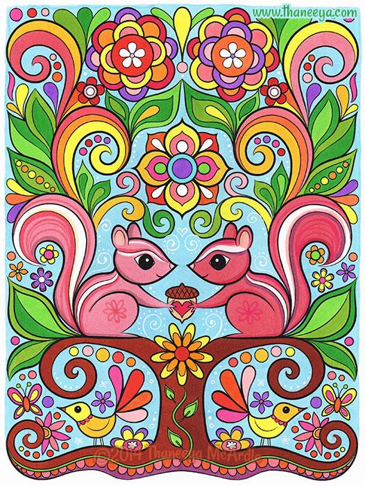 Chipmunks in Love by Thaneeya McArdle