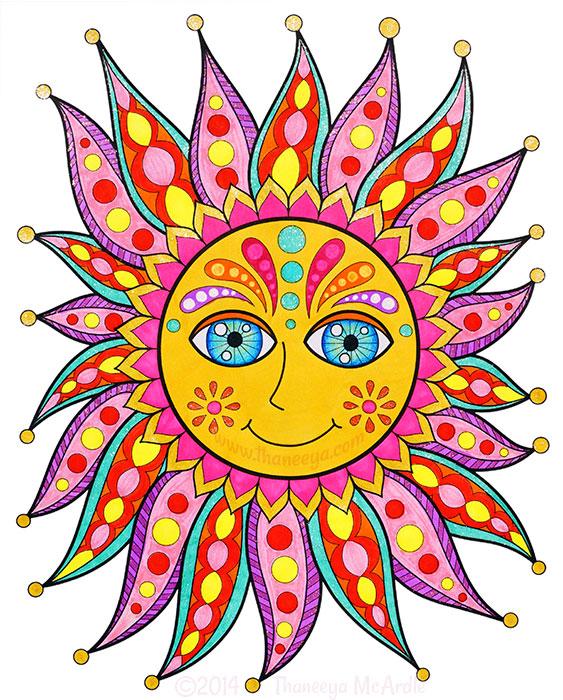 Chill Sun by Thaneeya McArdle