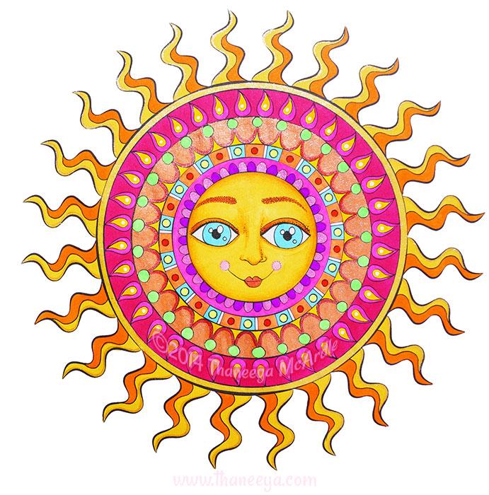 Smiling Sun by Thaneeya McArdle