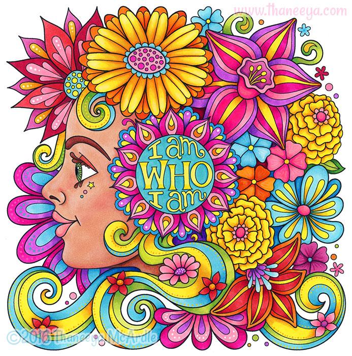 I Am Who I Am by Thaneeya McArdle