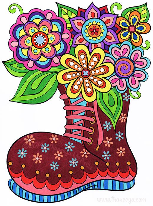 Garden Boot by Thaneeya McArdle