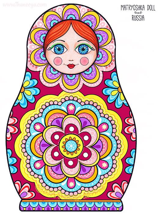 Matryoshka Doll by Thaneeya McArdle