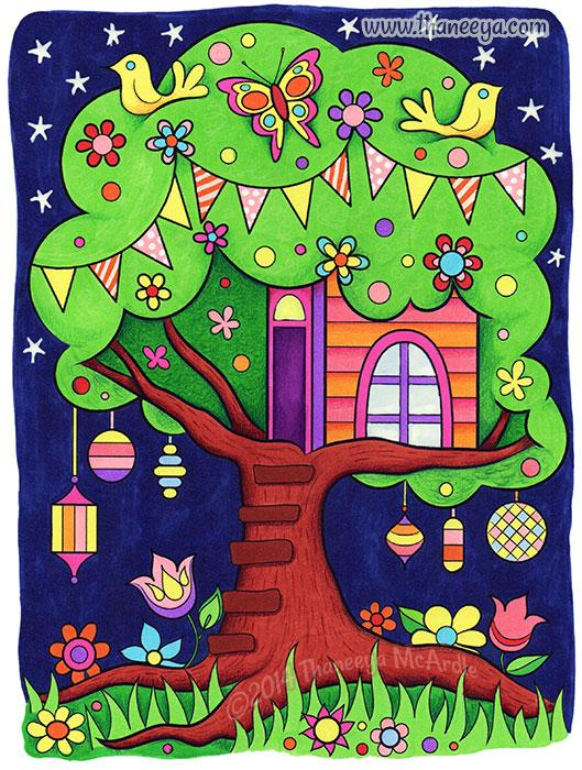 Tree House by Thaneeya McArdle
