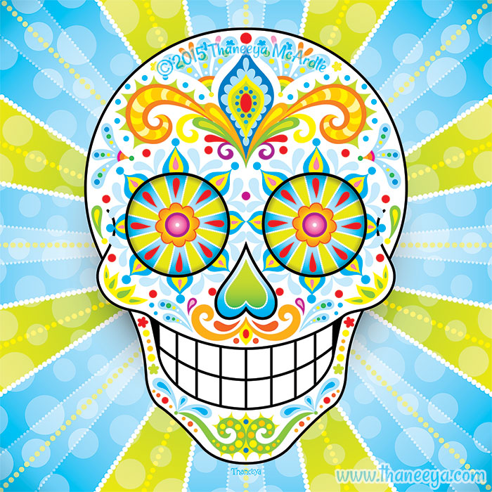 Zest Sugar Skull by Thaneeya McArdle