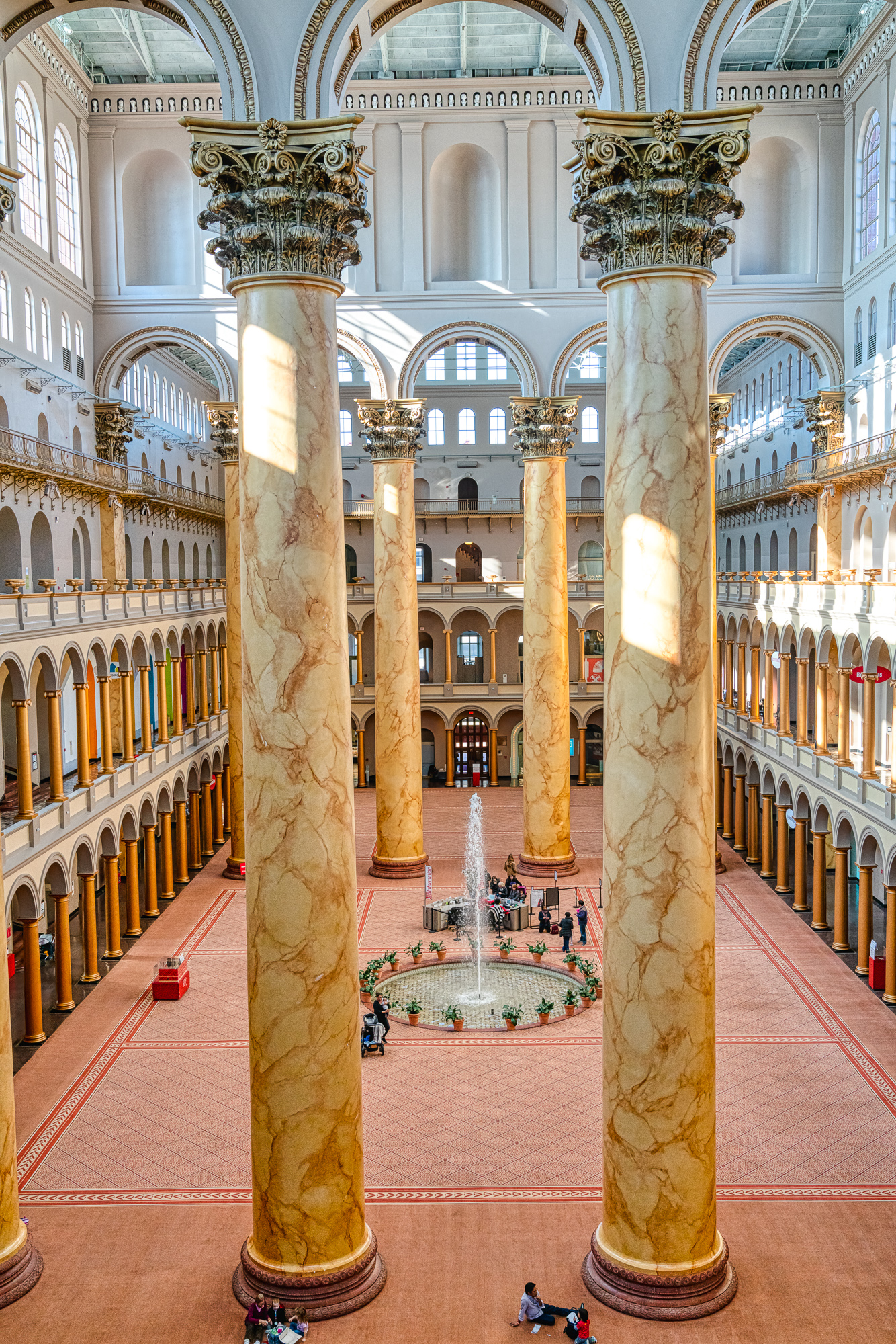 Great Hall of the National Building Museum, Washington, DC