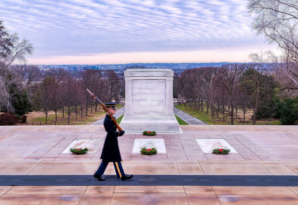 Tomb of the Unknown Soldier, Arlington National Cemetery