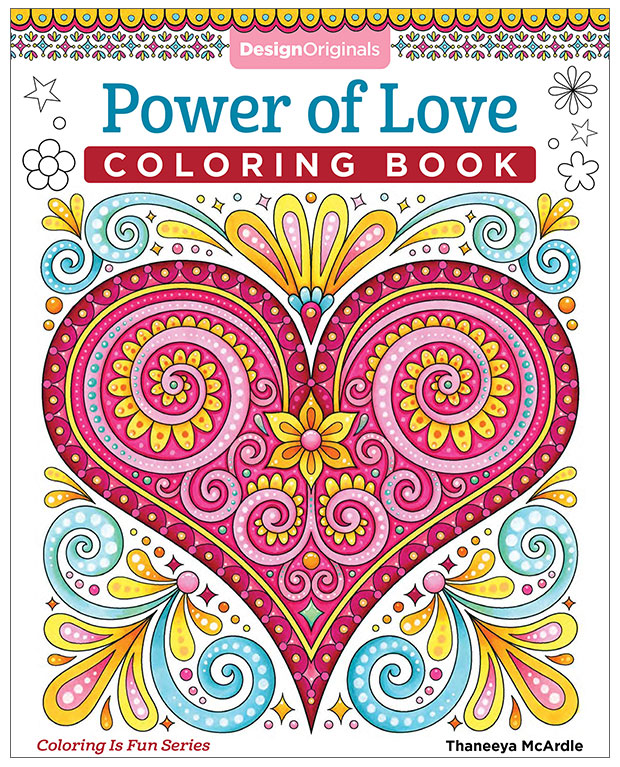 Power of Love Coloring Book by Thaneeya McArdle