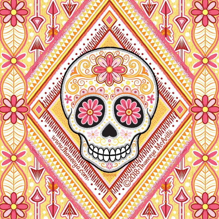 Avila Sugar Skull by Thaneeya McArdle