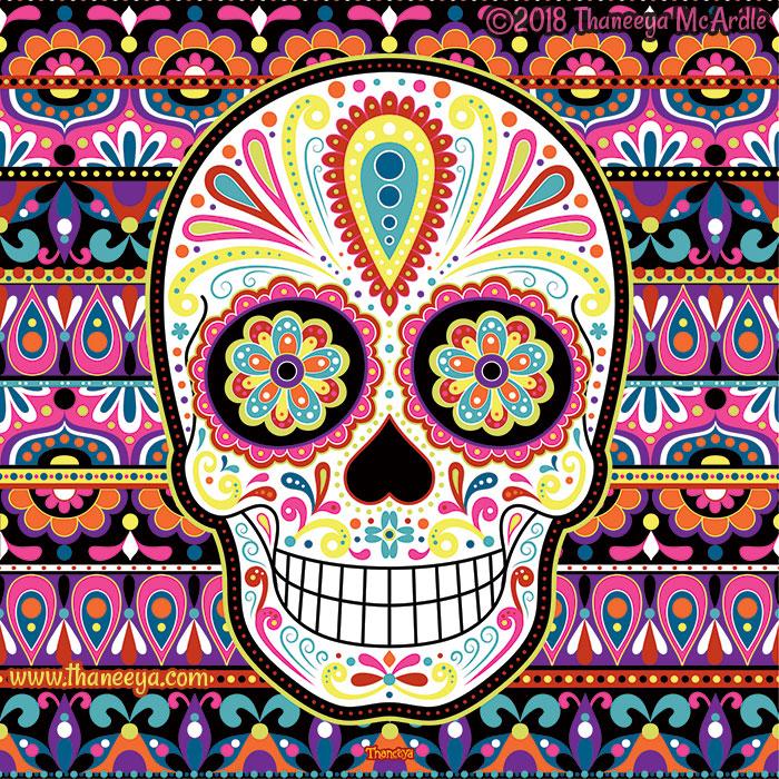 Sierra Sugar Skull by Thaneeya McArdle