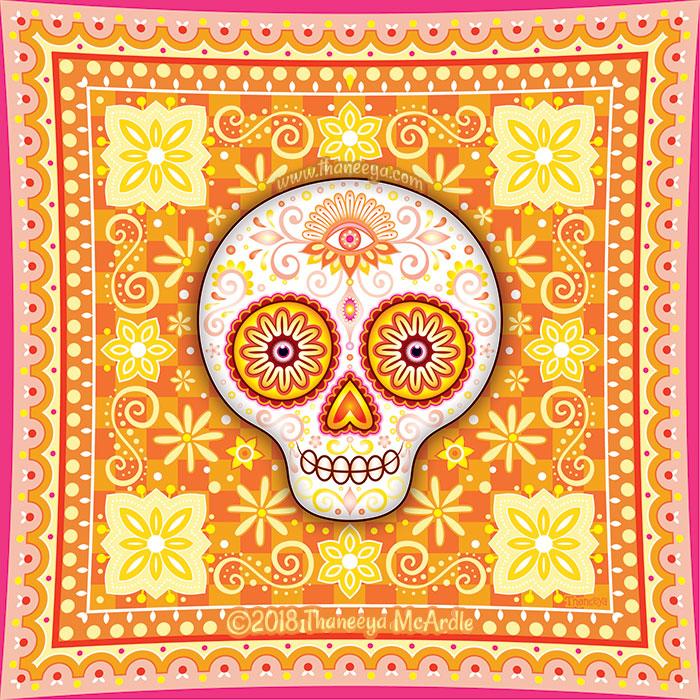 Sol Sugar Skull by Thaneeya McArdle