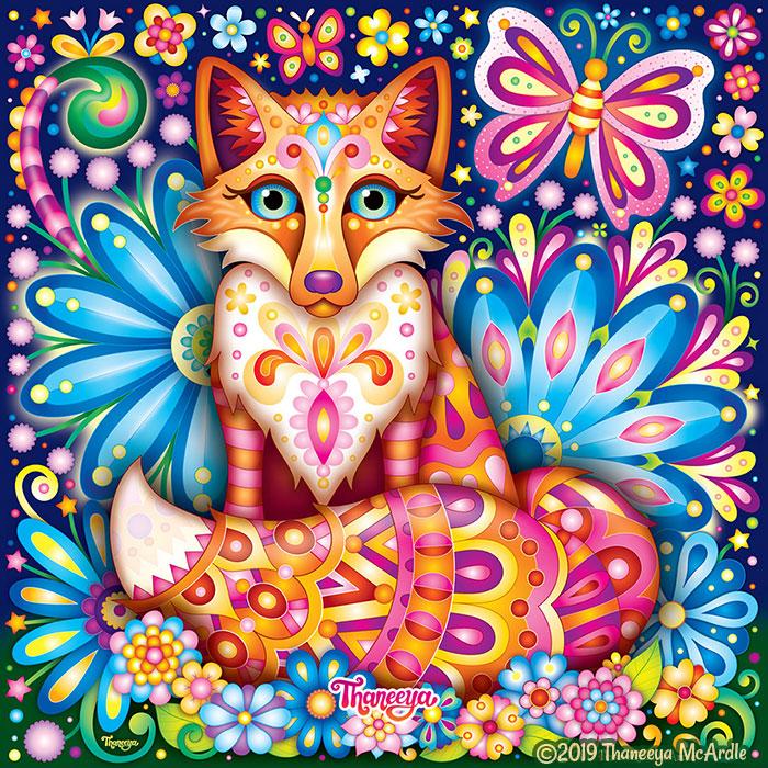 Fox Art by Thaneeya McArdle