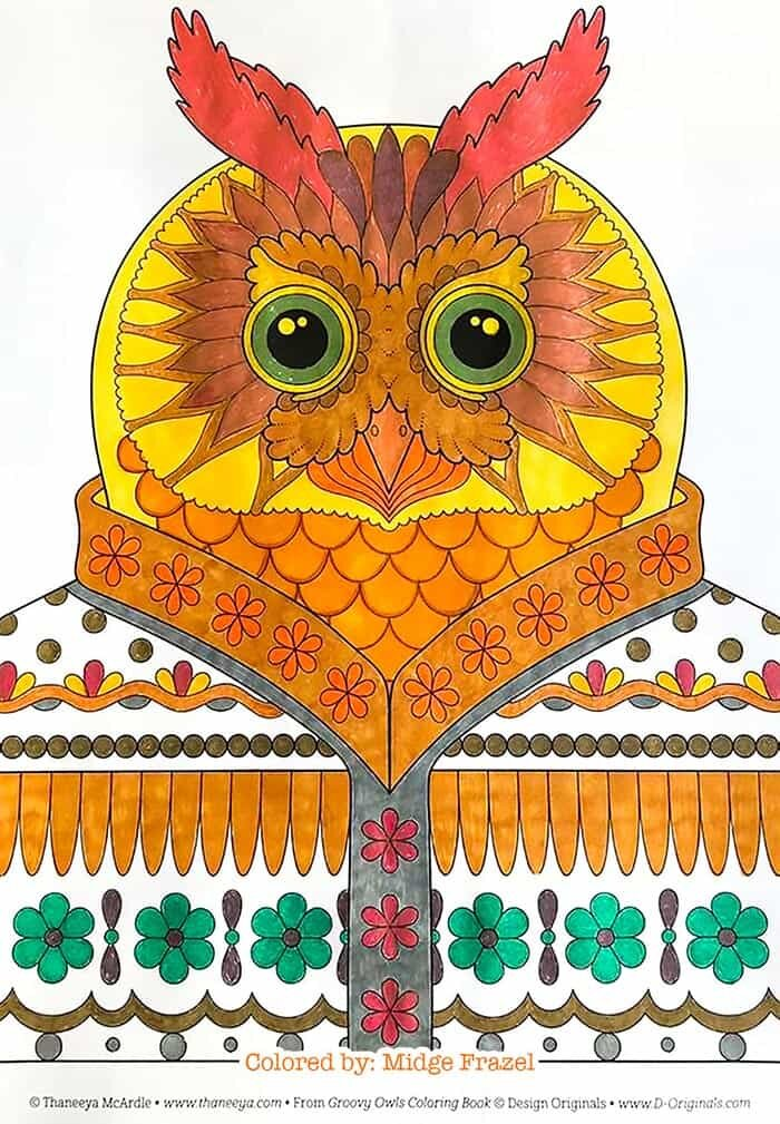 Regal Owl Art by Thaneeya McArdle
