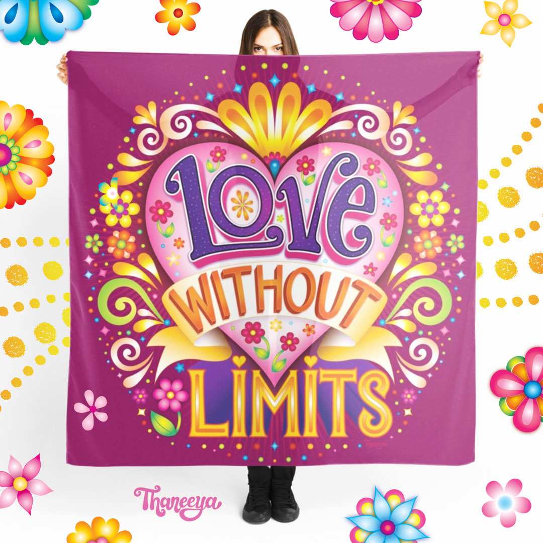Love with limits Scarf