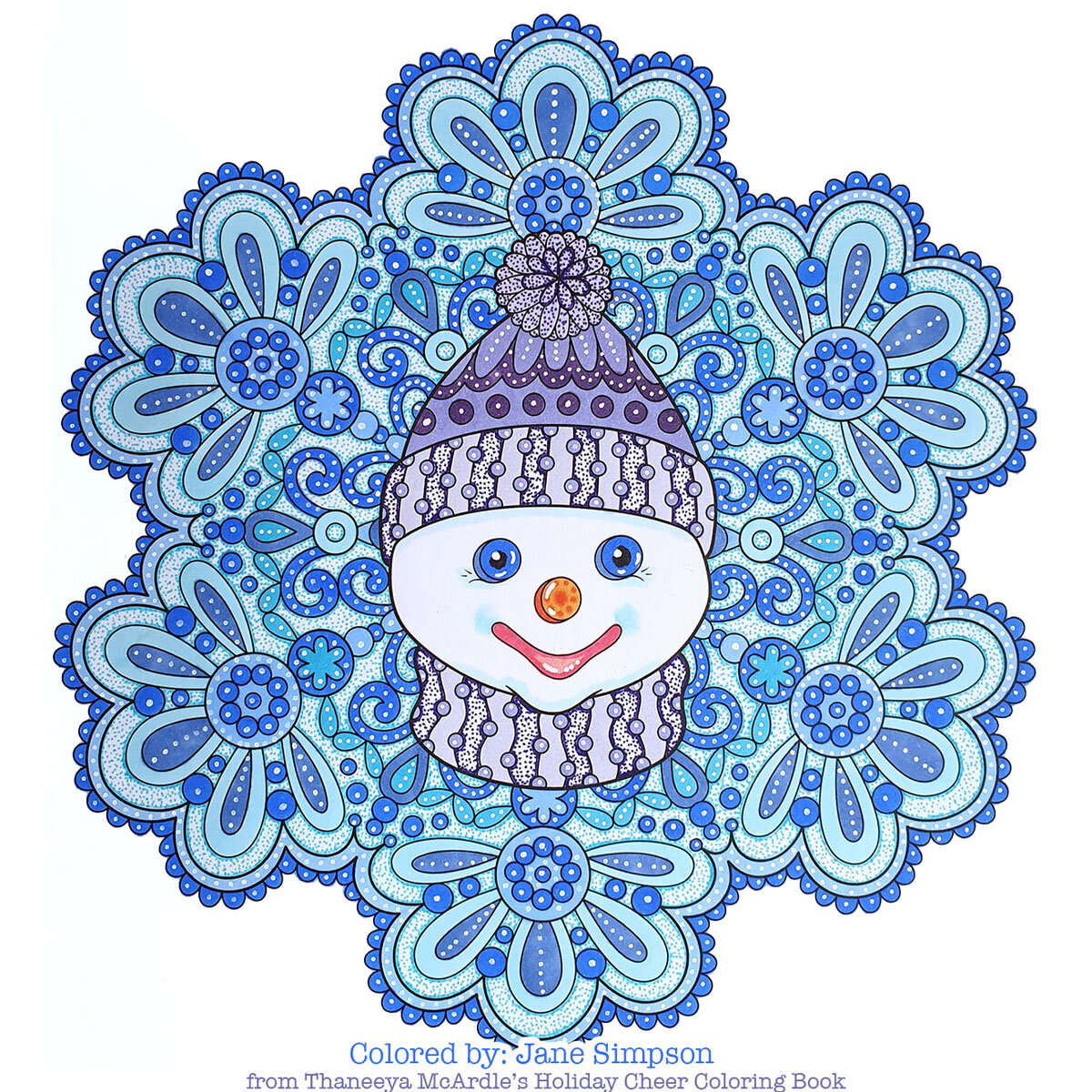- New Christmas Coloring Galleries From Thaneeya McArdle's Christmas Coloring  Books — Thaneeya.com