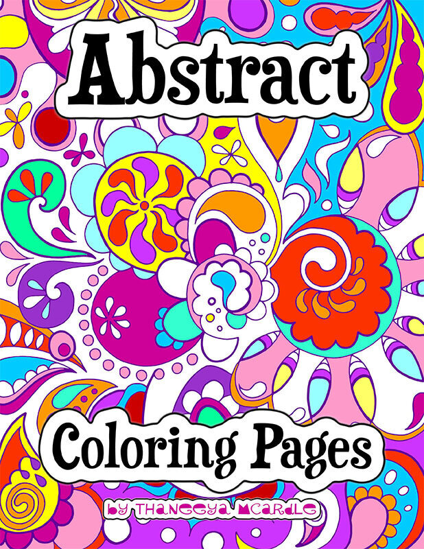Free Printable Abstract Coloring Pages For Kids | Abstract ... | 800x618