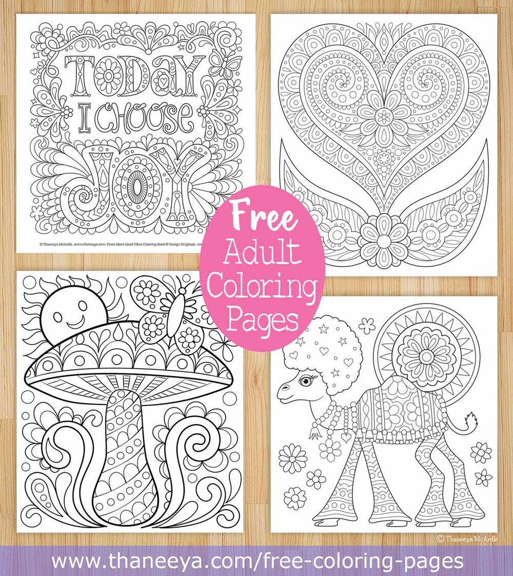 Free Coloring Pages Thaneeya Com