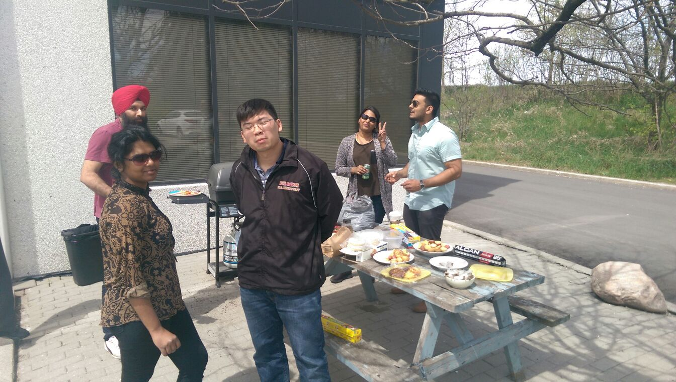 Barbeque at Pi HQ