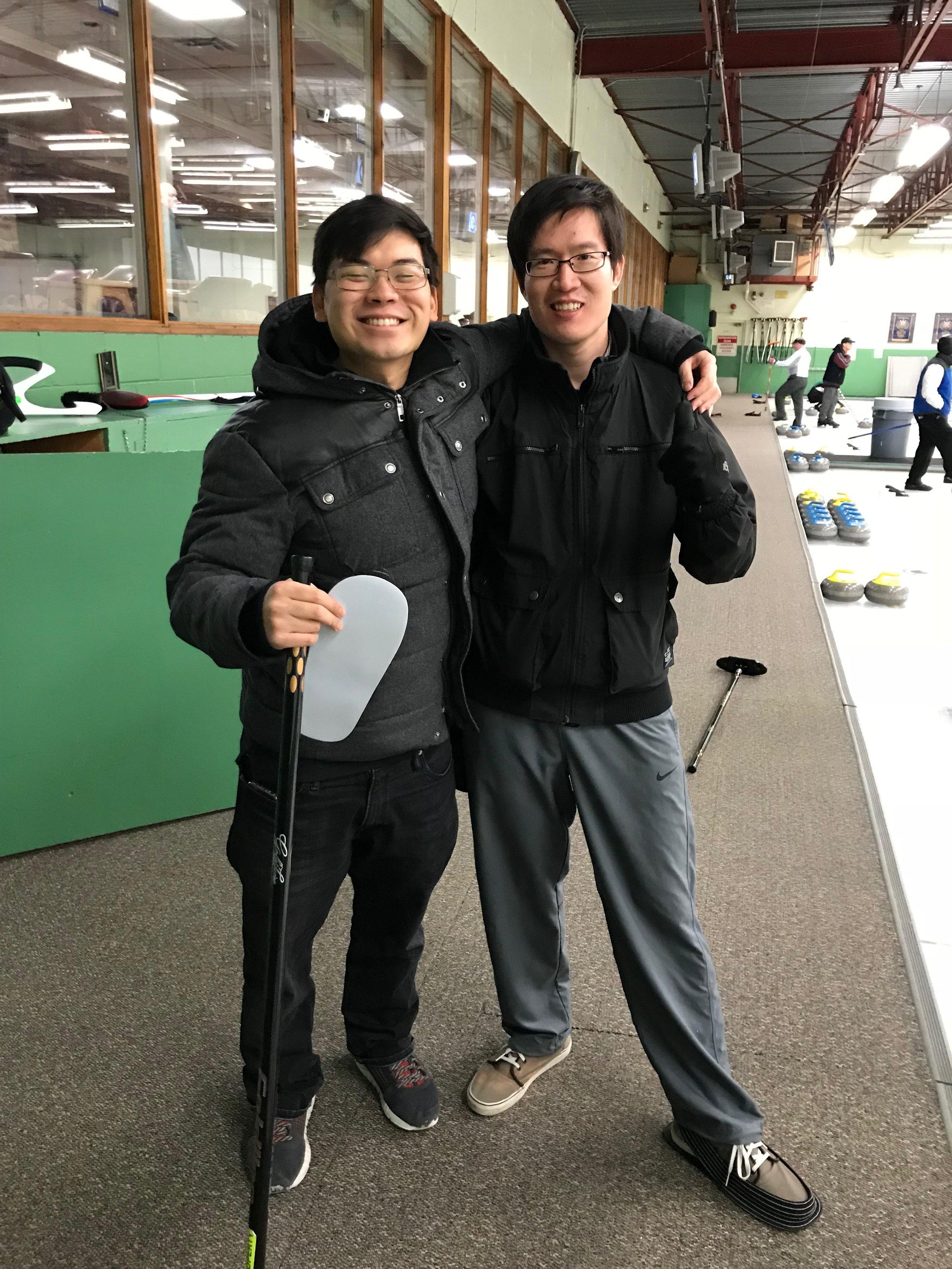 Pi's Curling Match