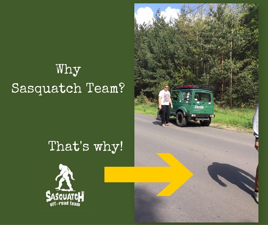 why sasquatch offroad team